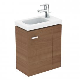 Ideal Standard Connect Space vanity unit for hand washbasin with 1 door front american oak / corpus american oak
