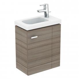 Ideal Standard Connect Space vanity unit for hand washbasin with 1 door front grey elm / corpus grey elm