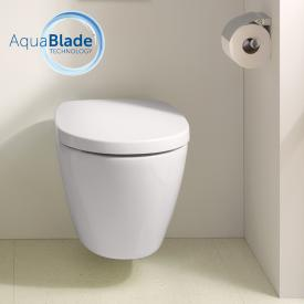Ideal Standard Connect wall-mounted washdown toilet, AquaBlade white, with Ideal Plus
