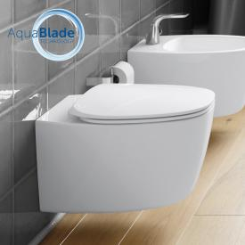 Ideal Standard Dea wall-mounted, washdown toilet AquaBlade white, with Ideal Plus