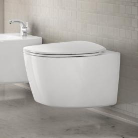Ideal Standard Dea wall-mounted washdown toilet, rimless white, with Ideal Plus
