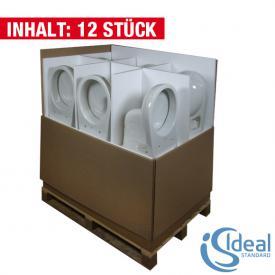 Ideal Standard Eurovit wall-mounted, washdown toilet