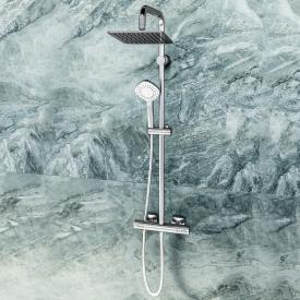 Ideal Standard Idealrain Cube shower system Evo with CeraTherm 100 shower thermostat