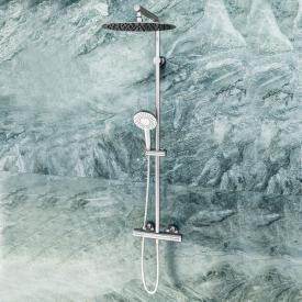 Ideal Standard Idealrain shower system Evo Jet with CeraTherm 100 shower thermostat