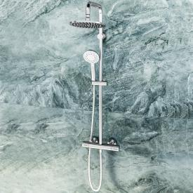 Ideal Standard Idealrain shower system Evo with CeraTherm 100 shower thermostat