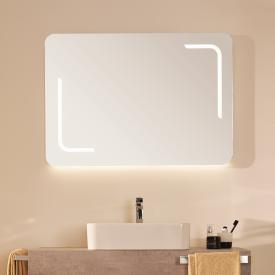 Ideal Standard Mirror & Light mirror with LED lighting, dimmable