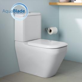 Ideal Standard Tonic II floorstanding close-coupled washdown toilet, AquaBlade white