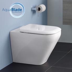 Ideal Standard Tonic II floorstanding washdown toilet, AquaBlade white