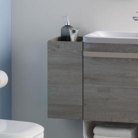 Ideal Standard Tonic II side unit for hand washbasin front grey oak decor/ corpus grey oak decor