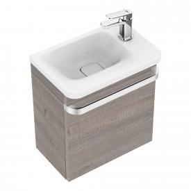 Ideal Standard Tonic II vanity unit for hand washbasin front grey oak decor / corpus grey oak decor