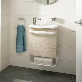 Ideal Standard Tonic II vanity unit for hand washbasin with 1 door front light pine decor / corpus light pine decor