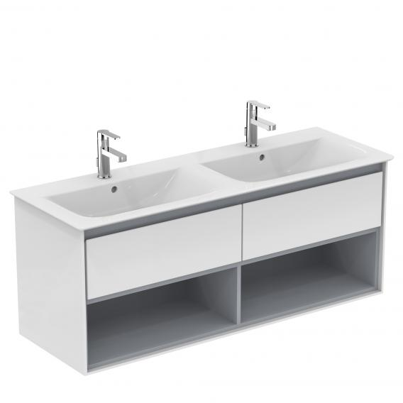 Ideal Standard Connect Air double vanity washbasin with Ideal Plus
