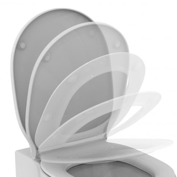 Ideal Standard Connect Air toilet seat, wrap over with soft-close & removable