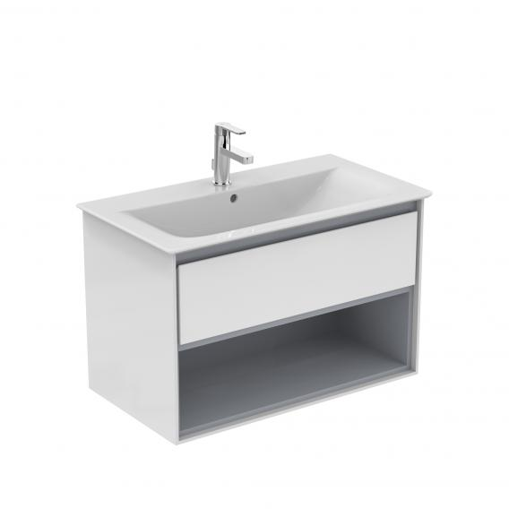 Ideal Standard Connect Air vanity washbasin white, with Ideal Plus