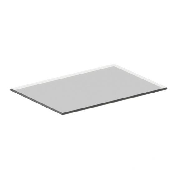 Ideal Standard Connect Space glass shelf for side unit grey