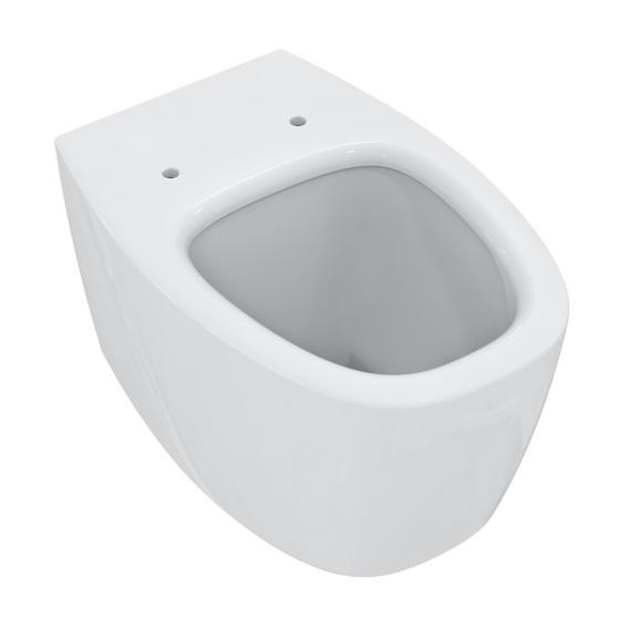 Ideal Standard Dea wall-mounted washdown toilet, AquaBlade white, with Ideal Plus