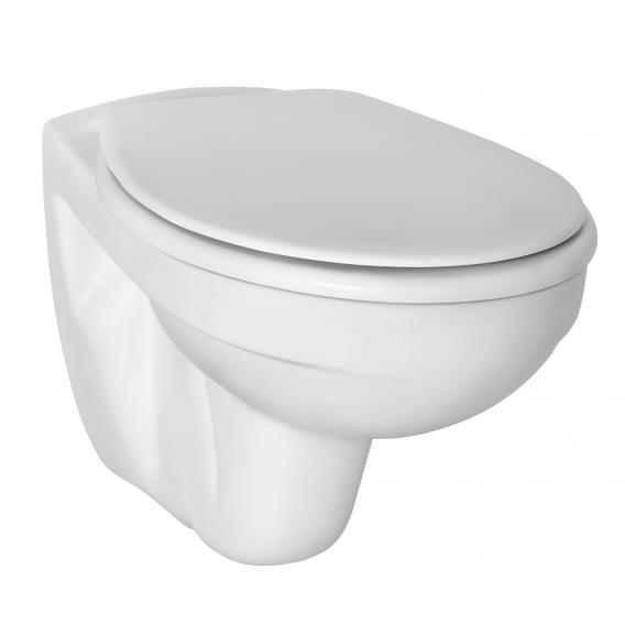 Ideal Standard Eurovit wall-mounted, washdown toilet with flushing rim