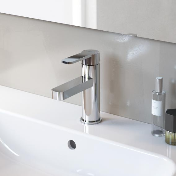 Ideal Standard GIO single lever basin mixer with flow rate limiter with pop-up waste set