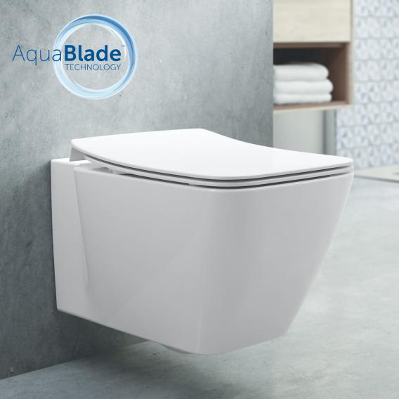 Ideal Standard Strada II wall-mounted washdown toilet, AquaBlade white, with Ideal Plus