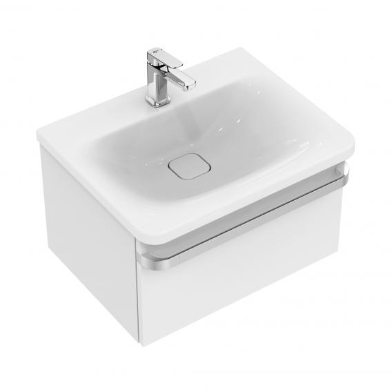 Ideal Standard Tonic II vanity unit with 1 pull-out compartment front white high gloss / corpus white high gloss