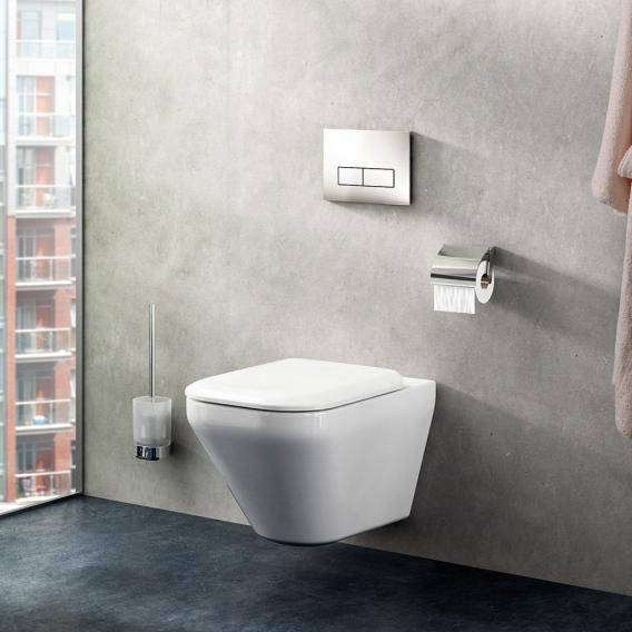 Ideal Standard Tonic II wall-mounted washdown rimless toilet with Ideal Plus