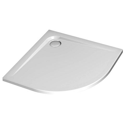 Ideal Standard Ultra Flat quadrant shower tray white