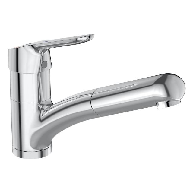 Ideal Standard CeraFlex kitchen mixer with retractable hand shower