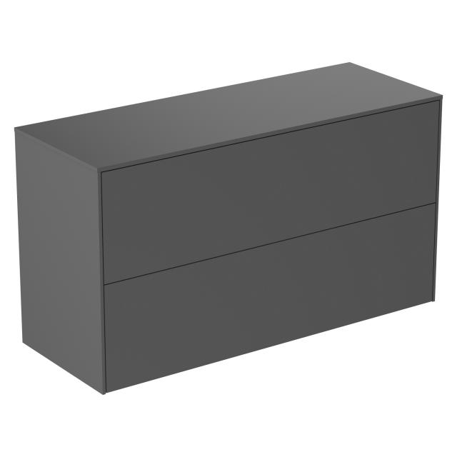 Ideal Standard Conca side unit with 2 pull-out compartments front matt anthracite/corpus matt anthracite