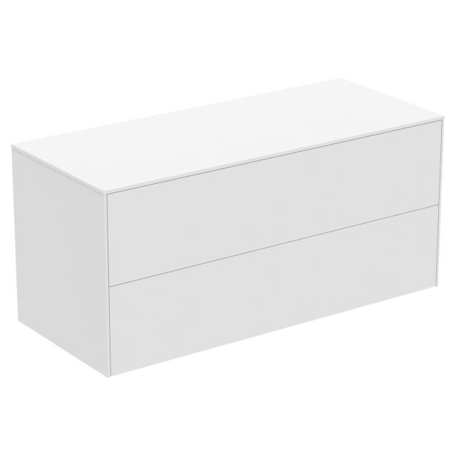 Ideal Standard Conca side unit with 2 pull-out compartments front matt white/corpus matt white