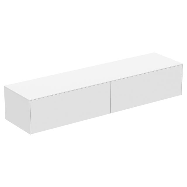Ideal Standard Conca side unit with 2 pull-out compartments front matt white / corpus matt white