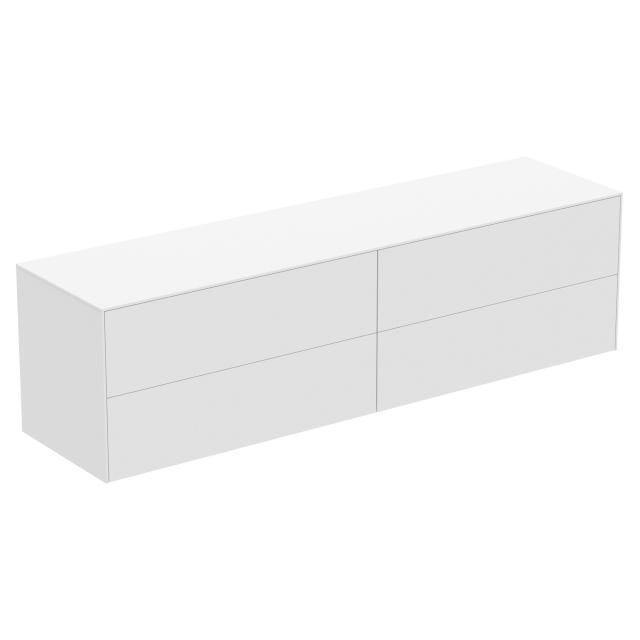 Ideal Standard Conca side unit with 4 pull-out compartments front matt white/corpus matt white