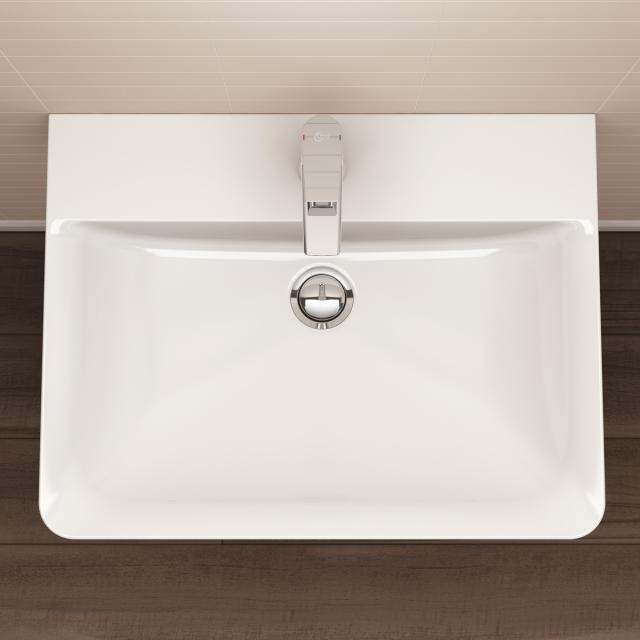 Ideal Standard Connect Air hand washbasin white, with Ideal Plus