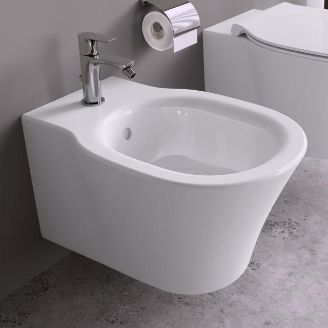 Ideal Standard Connect Air wall-mounted bidet with Ideal Plus