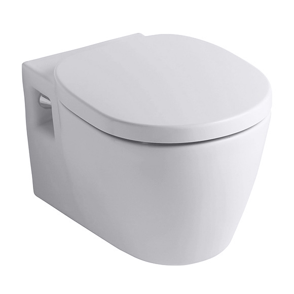 Ideal Standard Connect wall-mounted washdown toilet white
