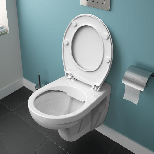 Ideal Standard Eurovit wall-mounted washdown toilet rimless