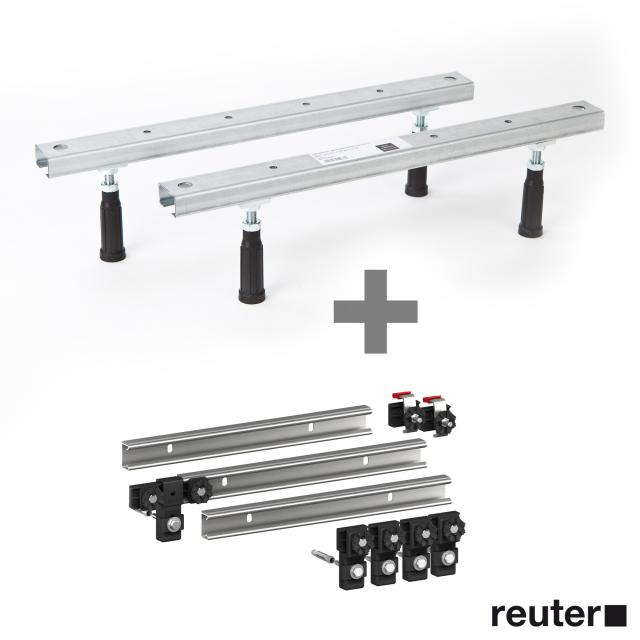 Ideal Standard Hotline bath legs incl. MEPA set of 3 support rails