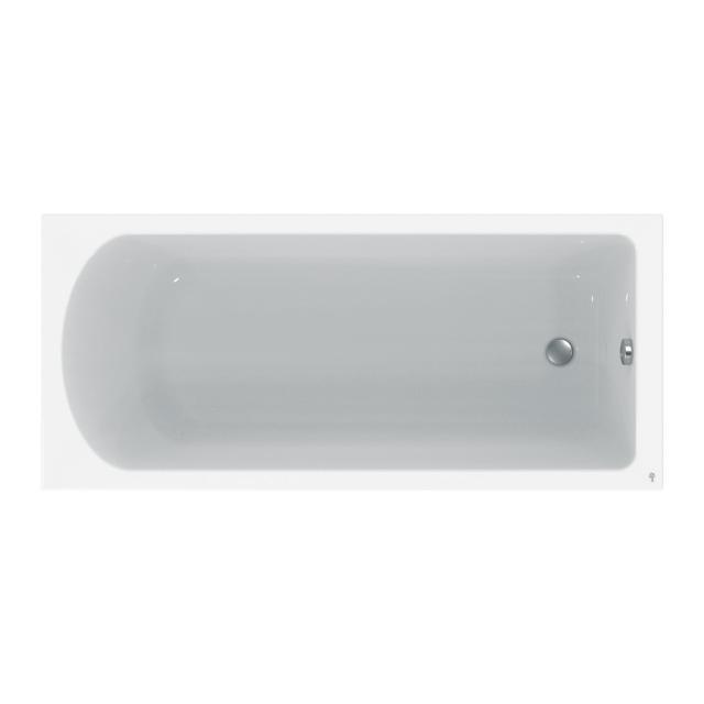 Ideal Standard Hotline New body-shaped, rectangular bath, built-in