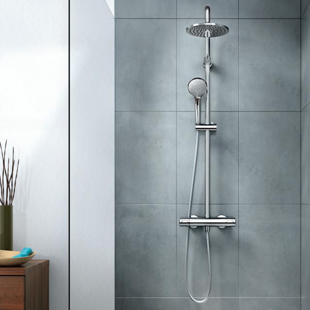 Ideal Standard Idealrain shower system M with CeraTherm 100 shower thermostat