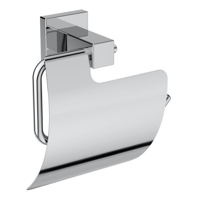 Ideal Standard IOM Cube toilet roll holder with cover