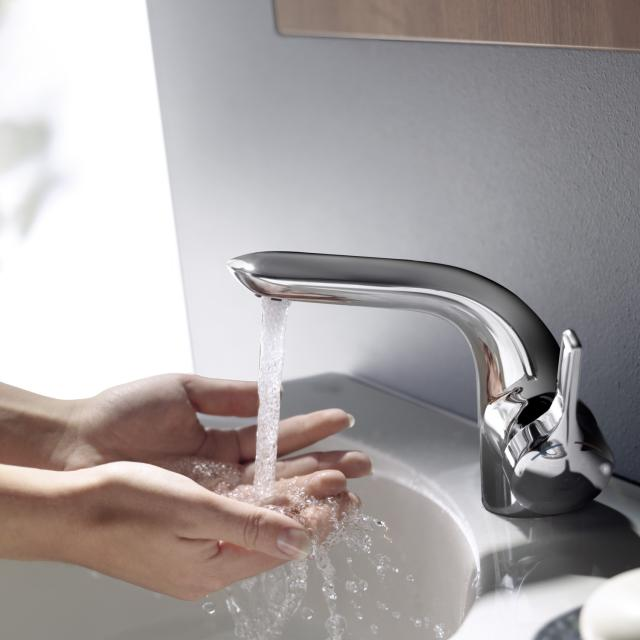 Ideal Standard Melange single lever basin mixer with flexible connection hoses