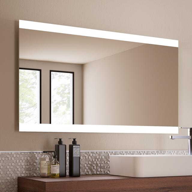 Ideal Standard Mirror & Light mirror with LED lighting, rotatable