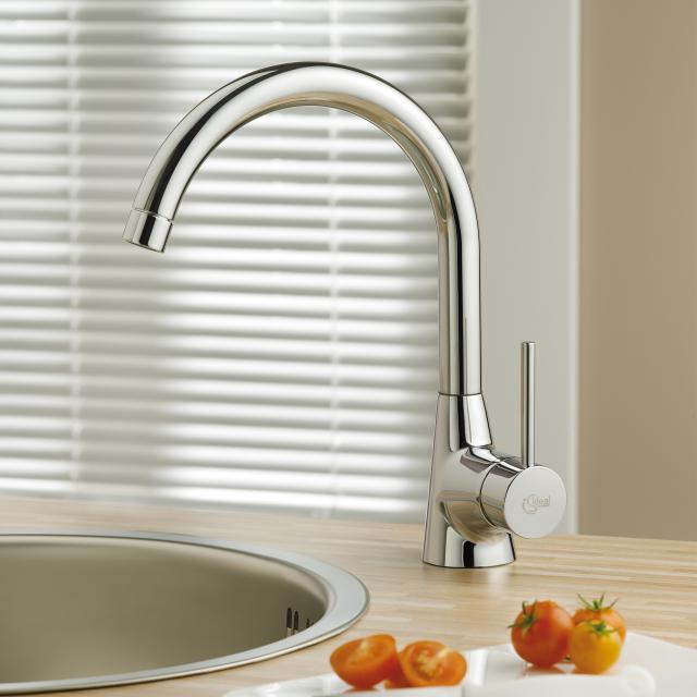 Ideal Standard Nora single lever kitchen mixer chrome