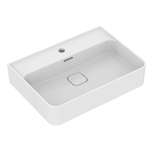Ideal Standard Strada II washbasin white, with Ideal Plus, with 1 tap hole, grounded