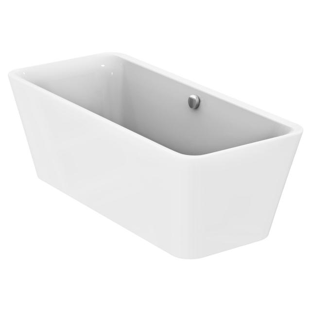 Ideal Standard Tonic II freestanding, rectangular bath white, with filling function via overflow