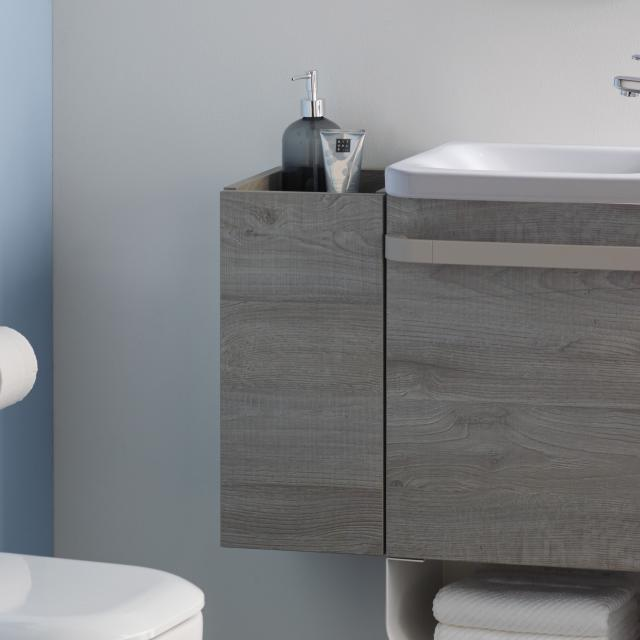 Ideal Standard Tonic II side unit for hand washbasin front grey oak decor/ corpus grey oak decor
