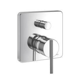 Jado Glance concealed, single lever bath mixer, trim set