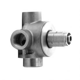 "Jado IQ concealed unit for multi-way valve 3/4"" with 3 outlets"