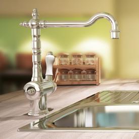 Jado Retro single lever kitchen mixer chrome
