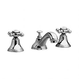 Jado Retro three hole basin mixer chrome