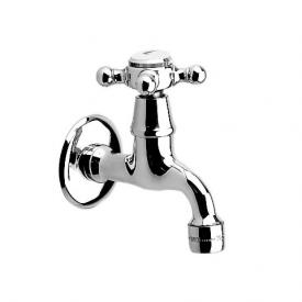 Jado Retro wall-mounted single tap chrome